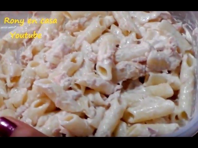 Pasta Rápida Con Atún Recetas Fáciles Para Principiantes En La Cocina Youtube