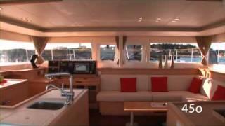 Катамаран Lagoon 450(Компания яхт вояж располагает современными катамаранами Lagoon 450 для морских путешествий и прогулок, чартер..., 2010-12-15T13:38:09.000Z)