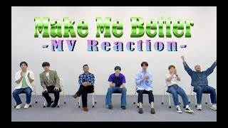 GENERATIONS from EXILE TRIBE / Make Me Better (MV Reaction)