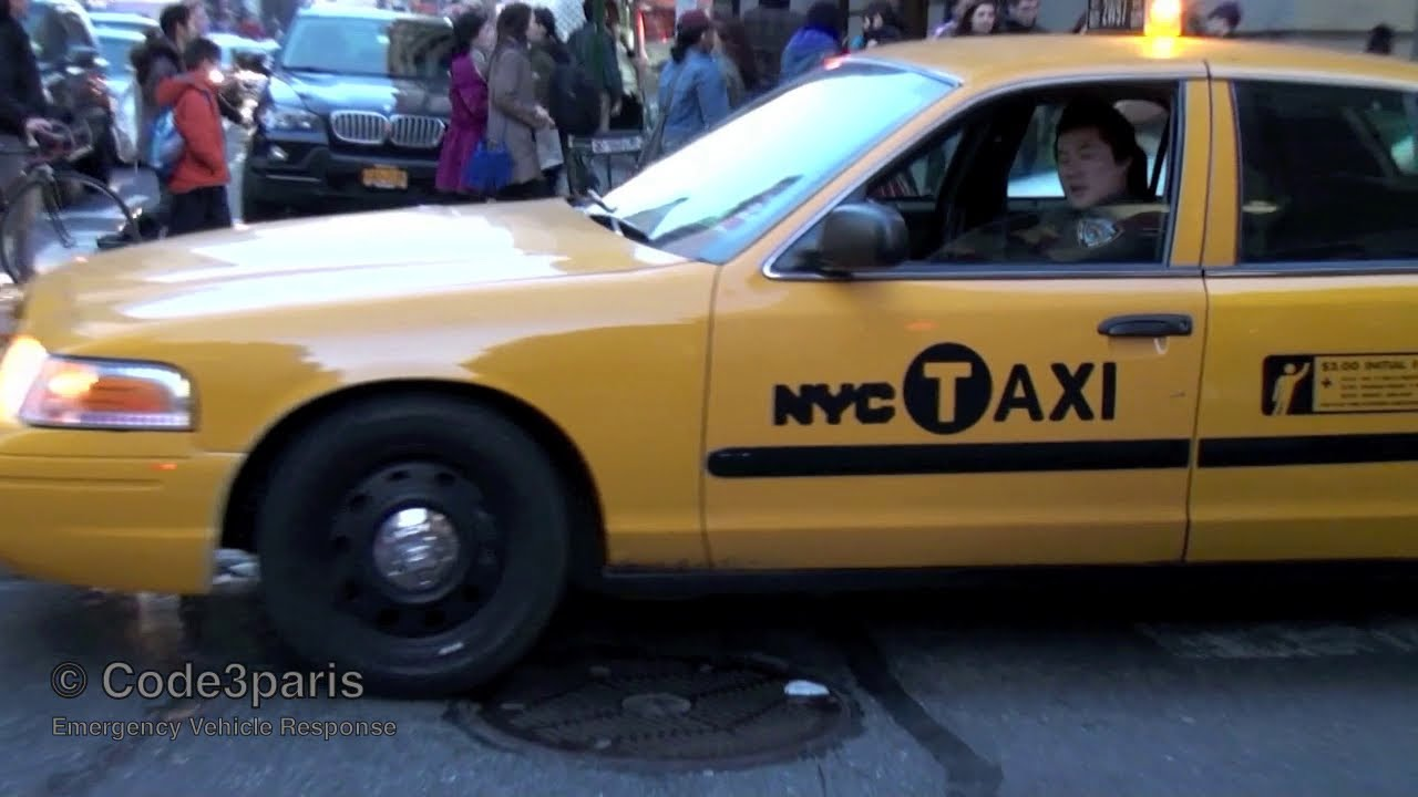 Nissan San Diego >> NYPD Undercover Police Taxi Responding Lights and Siren - YouTube