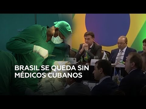 RT en Español: Cuba abandona el programa 'Más Médicos' en Brasil tras las amenazas de Bolsonaro