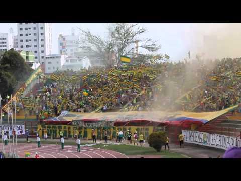 HIMNO DE SANTANDER, Bucaramanga vs expreso 15-FEBREO-2015.