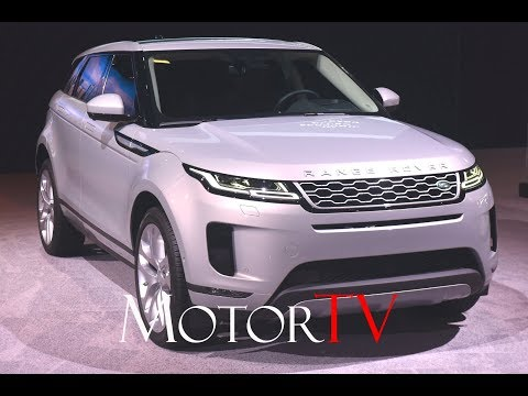 2020 RANGE ROVER EVOQUE Makes North American Debut l Features