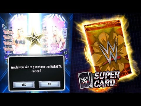 """OMEGA PRO NATALYA REWARD!! """"Within Reach"""" Packs Opened!   WWE SuperCard"""