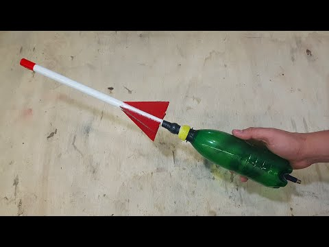 How To Make Simple Airsoft Rocket Launcher- And Rocket