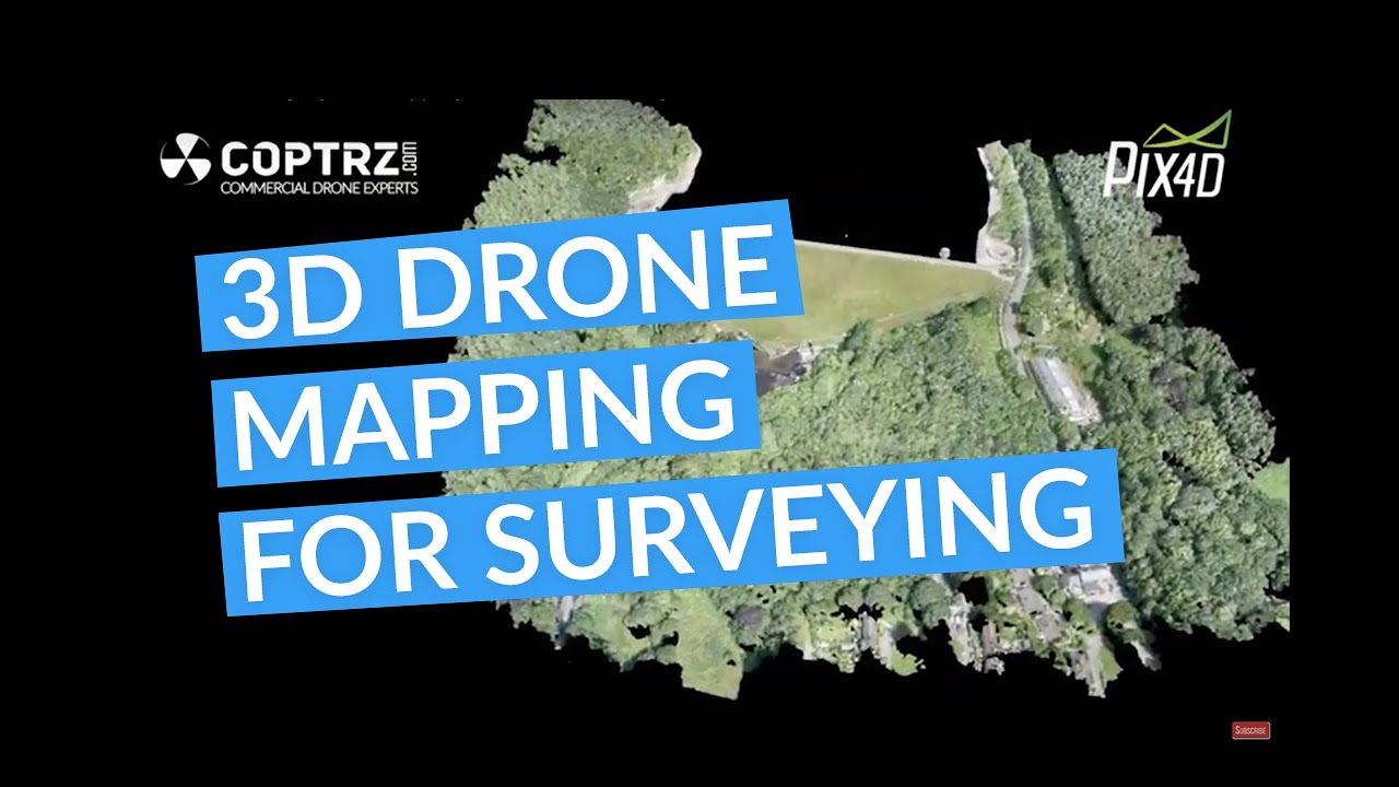 Drones for Surveying - 3D Mapping with a Wingtra using PiX4D