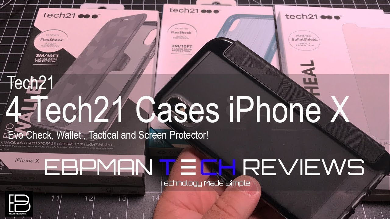 super popular 1676d 18447 Best Cases for the iPhone X from Tech21 tested for Wireless Charging