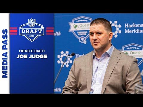 Joe Judge Breaks Down 2021 NFL Draft Picks | New York Giants