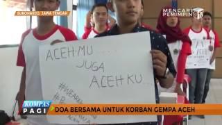Doa Bersama Untuk Korban Gempa Aceh