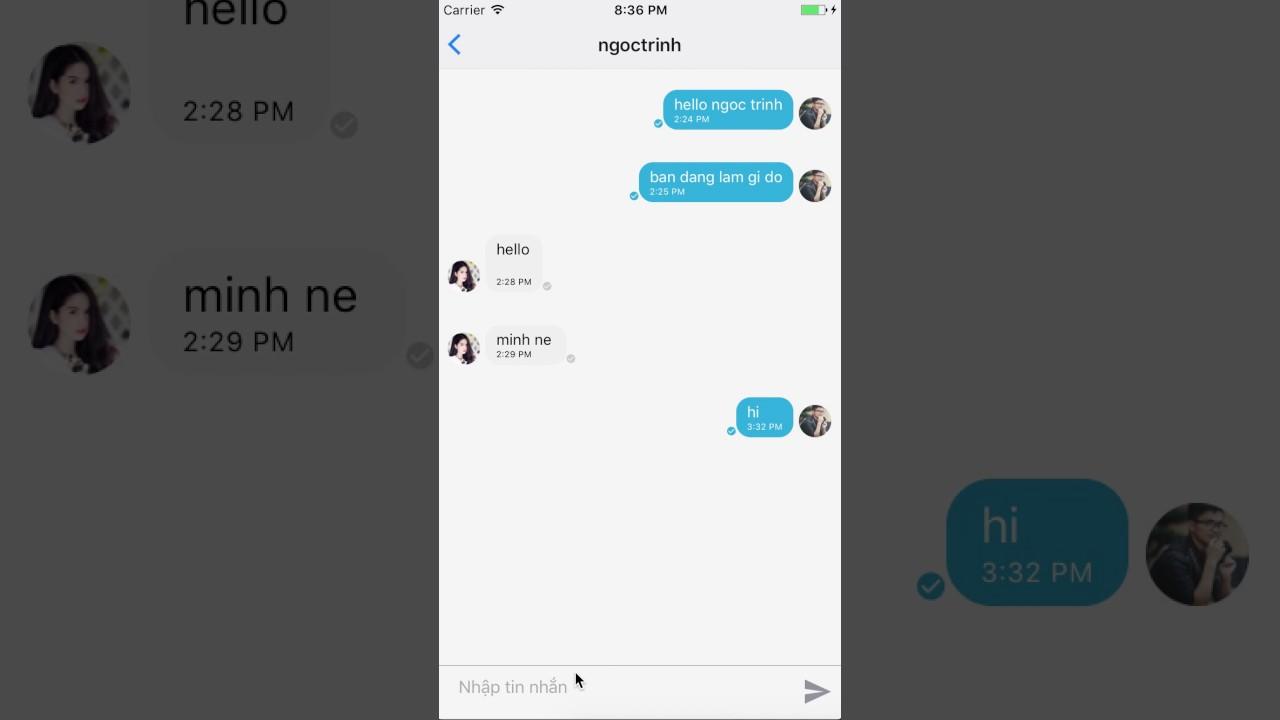 App Chat Firebase & React Native
