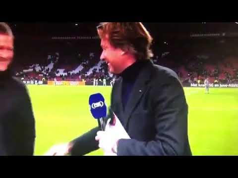 Marco van Basten zegt 'Sieg Heil' op live tv - FOX Sports