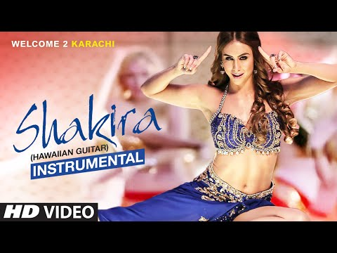 """Shakira"" Full Instrumental Video (Hawaiian Guitar) 