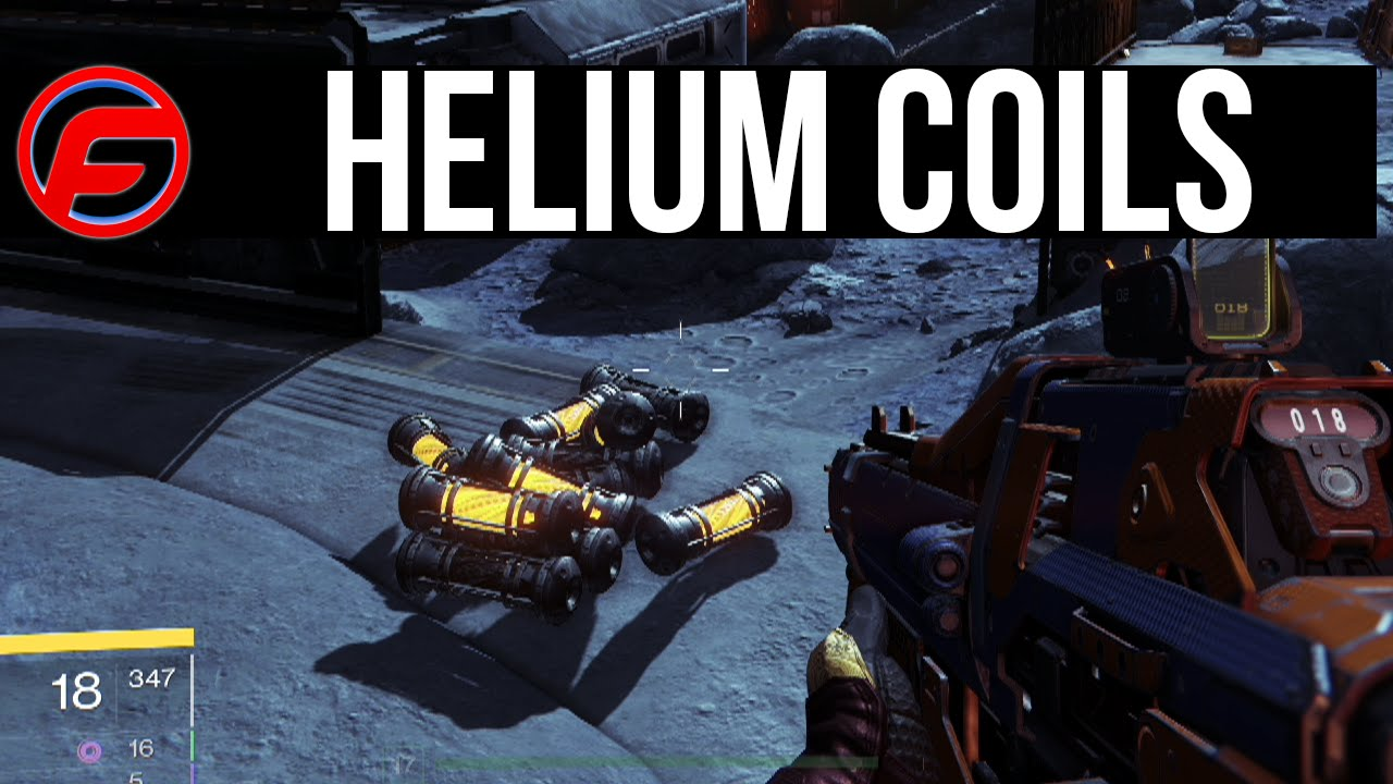 Destiny helium coils filaments locations what is it how do i use it