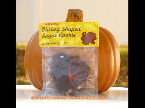 Trader Joe's Turkey Shaped Sugar Cookie review