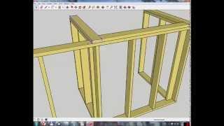 Узлы каркасного деревянного дома (фото и видео)