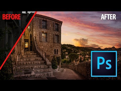 Photoshop Tutorial How to go from Boring to Amazing Light Landscapes Photography