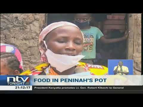 Well wishers shower Kisauni widow 'boiling stones' with supplies