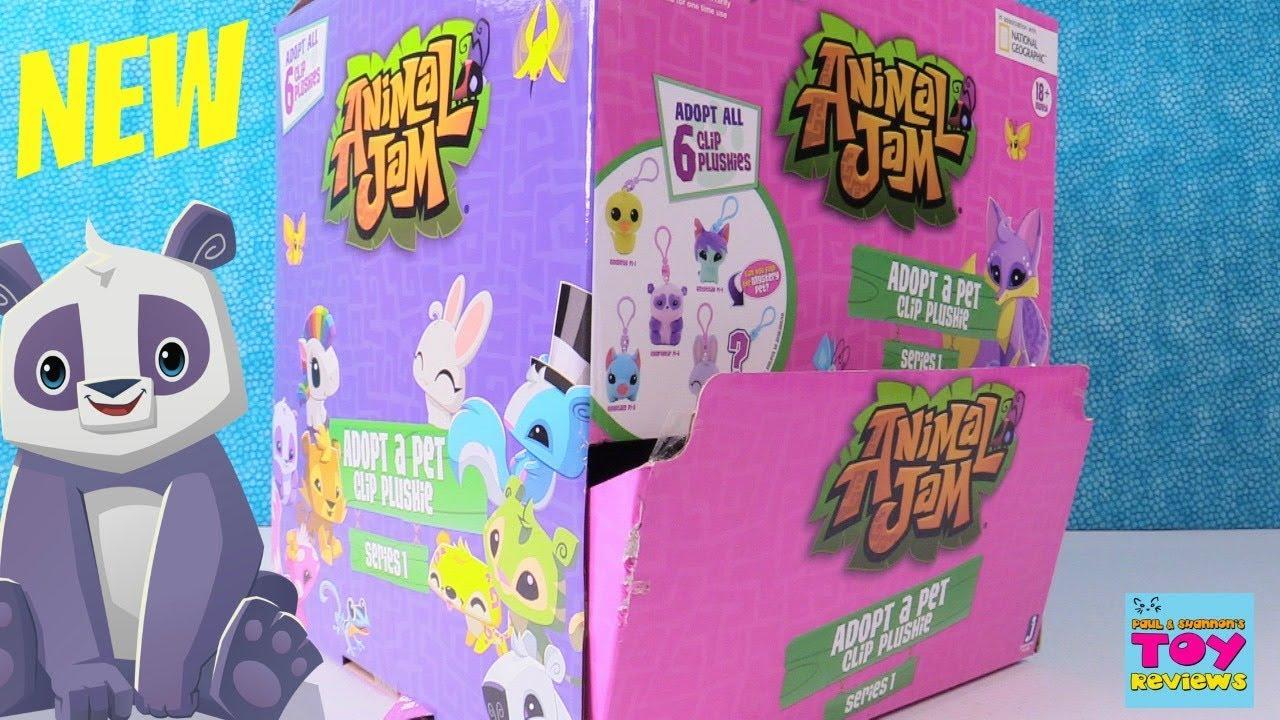 Animal Jam Adopt A Pet Clip Plushie Blind Bag Series 1 Toy ...