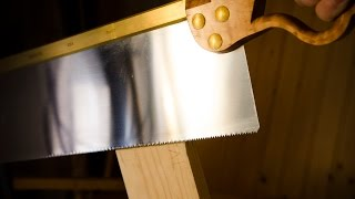 """How To Cut Tenon Cheeks {part 7 Of """"build A Dovetail Desk With Hand Tools""""}"""