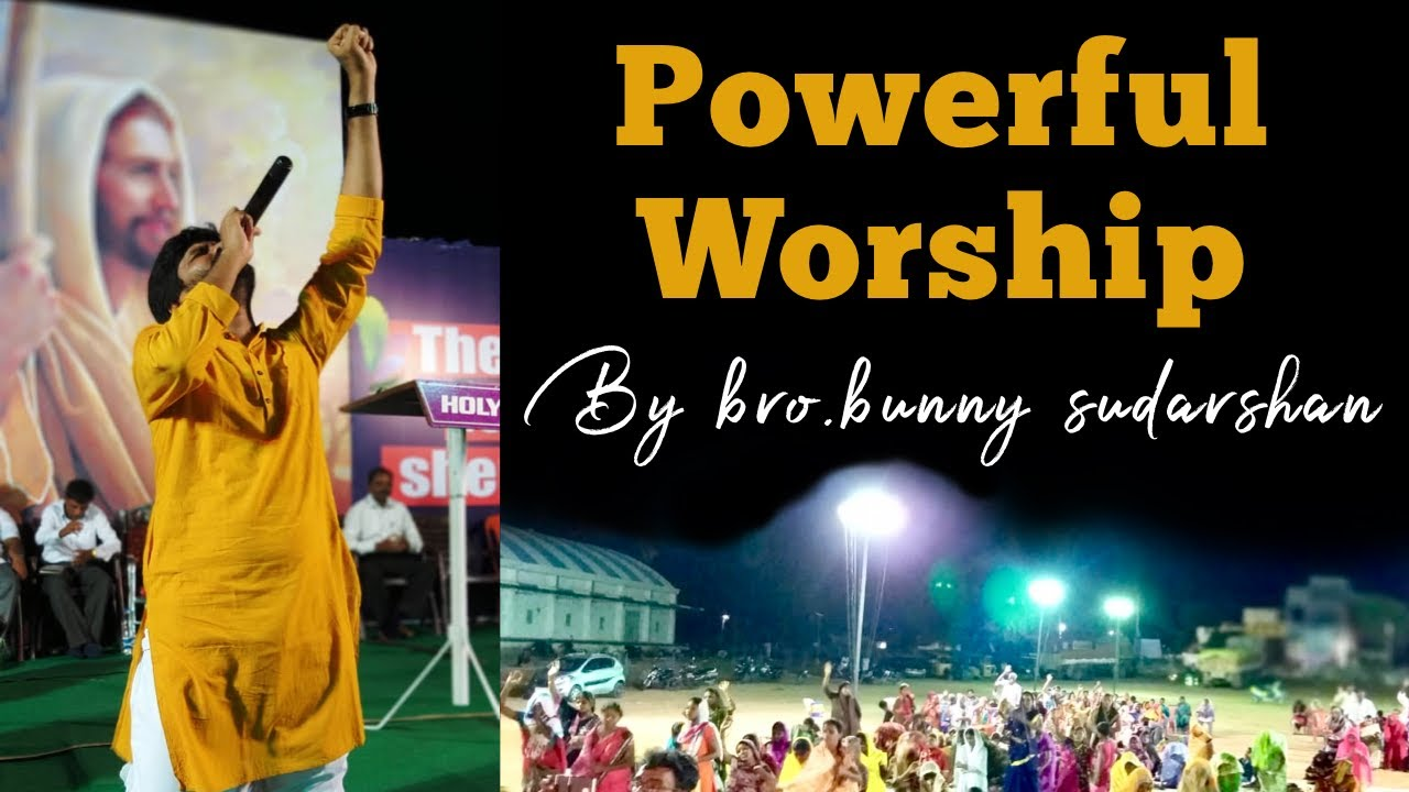 Yesayya ( Live powerful worship ) | Bunny Sudarshan | Latest New telugu Christian songs 2019