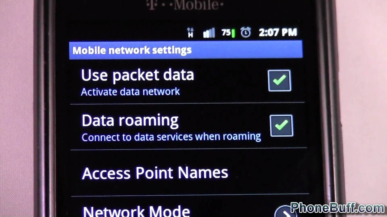How To Turn Data (2G, 3G, 4G) On or Off on Android