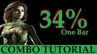 INJUSTICE 2 - Poison Ivy - 34% One Bar