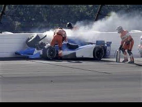 Justin Wilson's Death-Causing Crash (8/23/15)