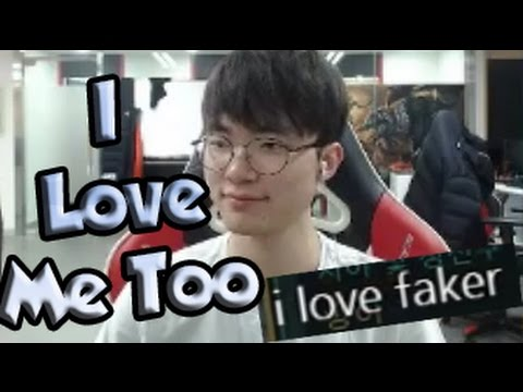 """FAKER: """"I LOVE ME TOO""""! - League of Legends Funny Stream Moments #92"""