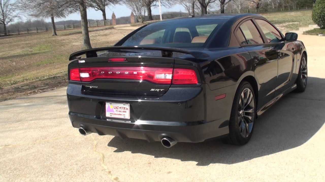 HD VIDEO 2014 DODGE CHARGER SRT8 6 4L HEMI LUXURY USED FOR SALE INFO ...