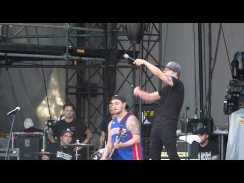 I Prevail performing Walk, One Step Closer, Killing in the Name at Rise Above Fest 2016 Bangor Maine