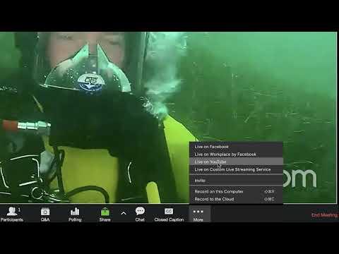 Zoom Video Webinar's Live Streaming Integrations