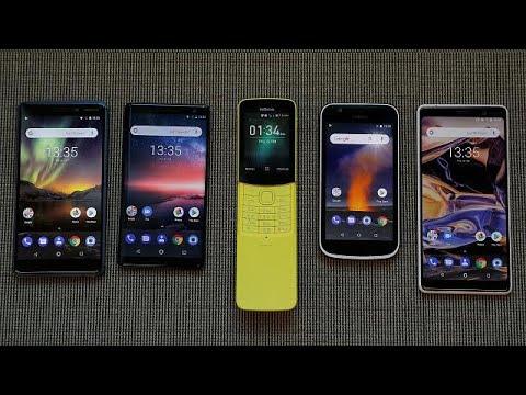شاهد: نوكيا تطلق سلسلة هواتفها الجديدة 2018  - نشر قبل 2 ساعة