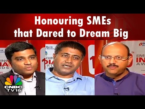 Emerging India Awards | Honouring SMEs that Dared to Dream Big | CNBC TV18