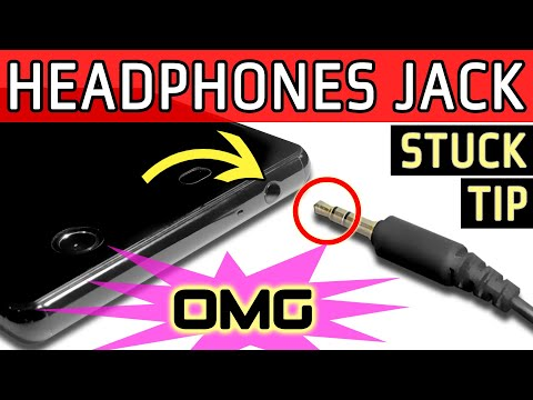 How To Extract Broken 3.5 mm Headphones Audio Jack/Plug Tip stuck Inside socket