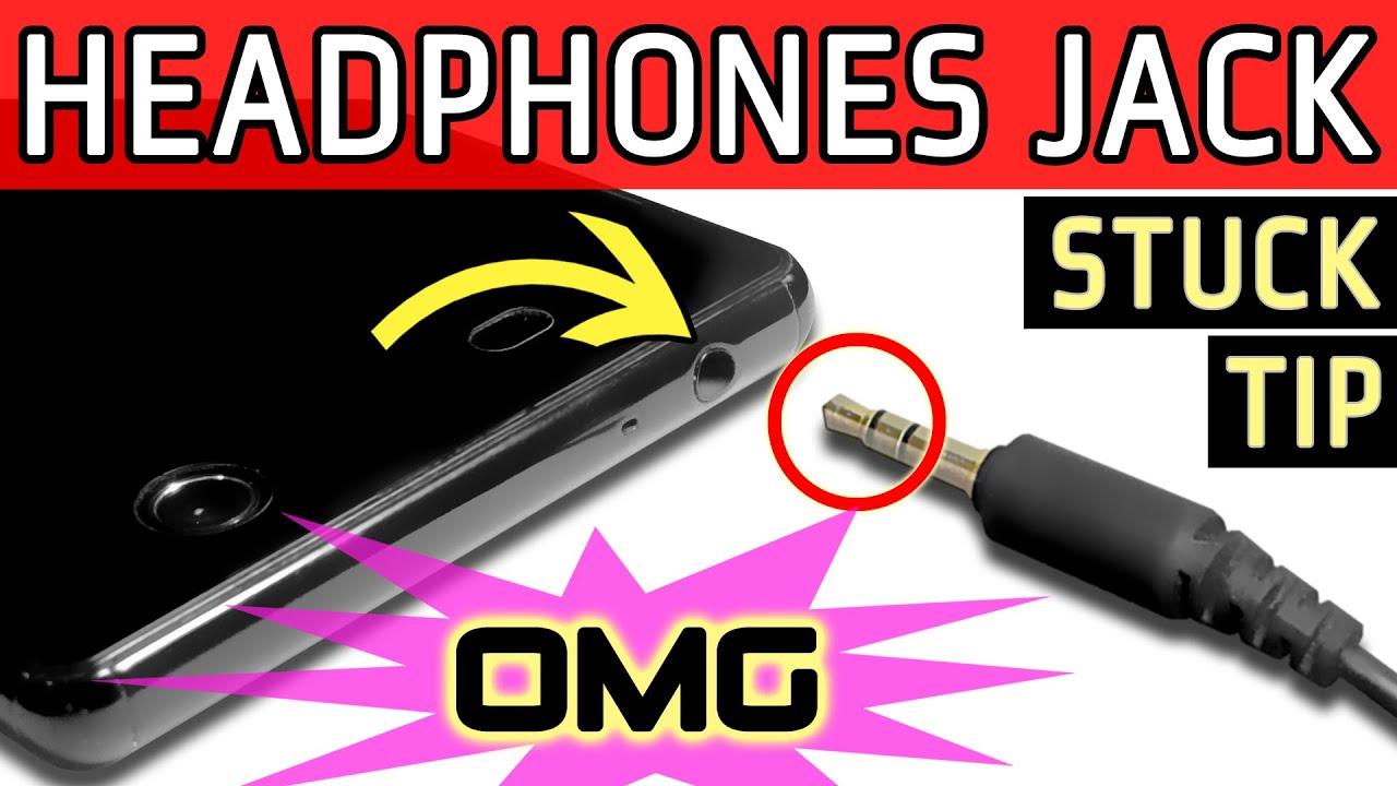 how to extract broken 3 5 mm headphones audio jack plug tip stuck inside socket youtube [ 1280 x 720 Pixel ]