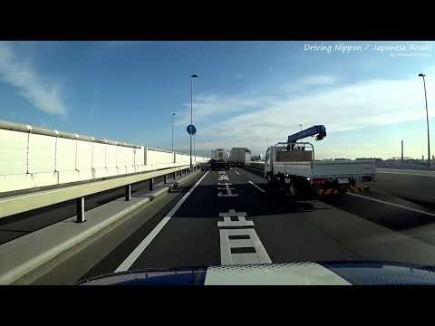 【Japanese Highway】Driving the Shutoko (Tokyo Metropolitan Expressway)  Tokyo to Yokohama
