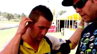 ASX 2013 Rd 6 Qualifying Interviews Pro Lites/Pro Open - Faith, Hill & Matt Moss