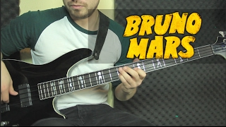 Bruno Mars - 24k Magic Tutorial Bajo | Bass Tutorial + TAB (HD)