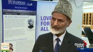 President Ahmadiyya Muslim Community Canada condemns terror attacks in Brussels