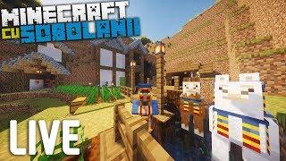 Lucram la ferma de gold! | Minecraft cu Sobolanii (LIVE)
