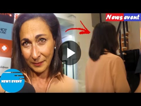 Cherie Gil Gets Pissed Off With Reporter And Walks Away From Interview, Why  Watch This news event