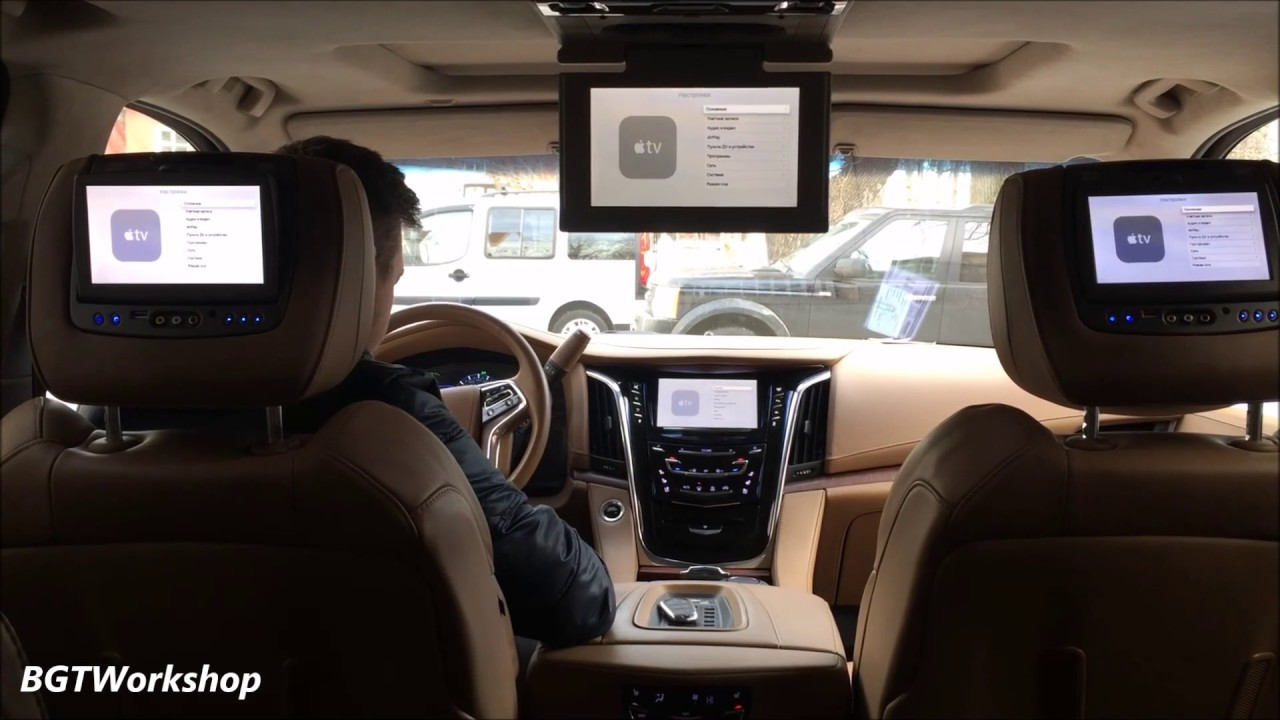 Cadillac Escalade 4-th Gen. - Apple TV, iPhone, MirrorLink ...