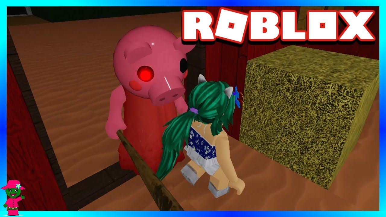 ESCAPING PIGGY IN MY NEW MAP!!! (Roblox Piggy)