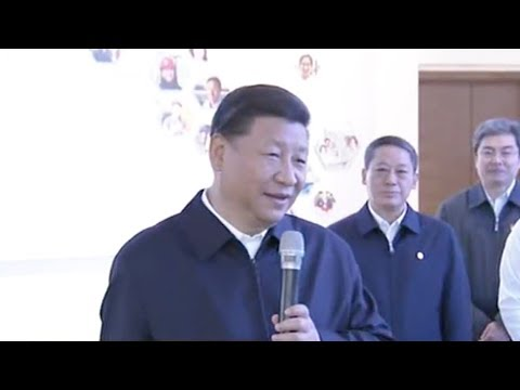 President Xi inspects facilities in Qingdao and Yantai