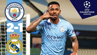 Highlights | Man City 2 1 Real Madrid (4 2 On Aggregate) | Sterling, Jesus