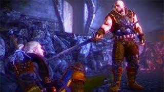Letho Defeats Geralt in Flotsam (Witcher 2   Boss Fight)