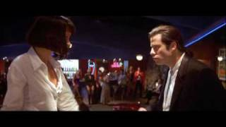 Pulp Fiction -  John Travolta & Uma Thurman - Dance Scene HD