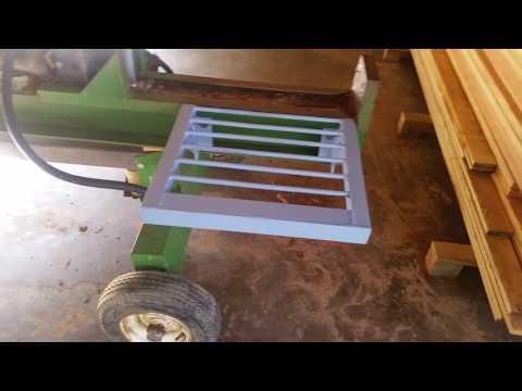 Log splitter modification