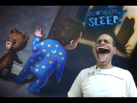 لعبة الرعب المخيفة   among the sleep gameplay