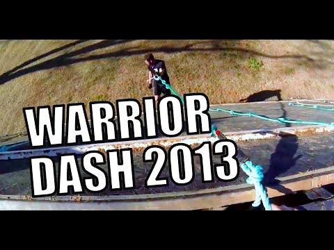 Warrior Dash 2013 GA. All Obstacles (Interactive Version)